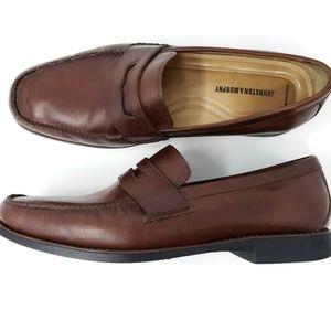 Johnston Murphy Penny Loafers 13 Casual Dress Shoe
